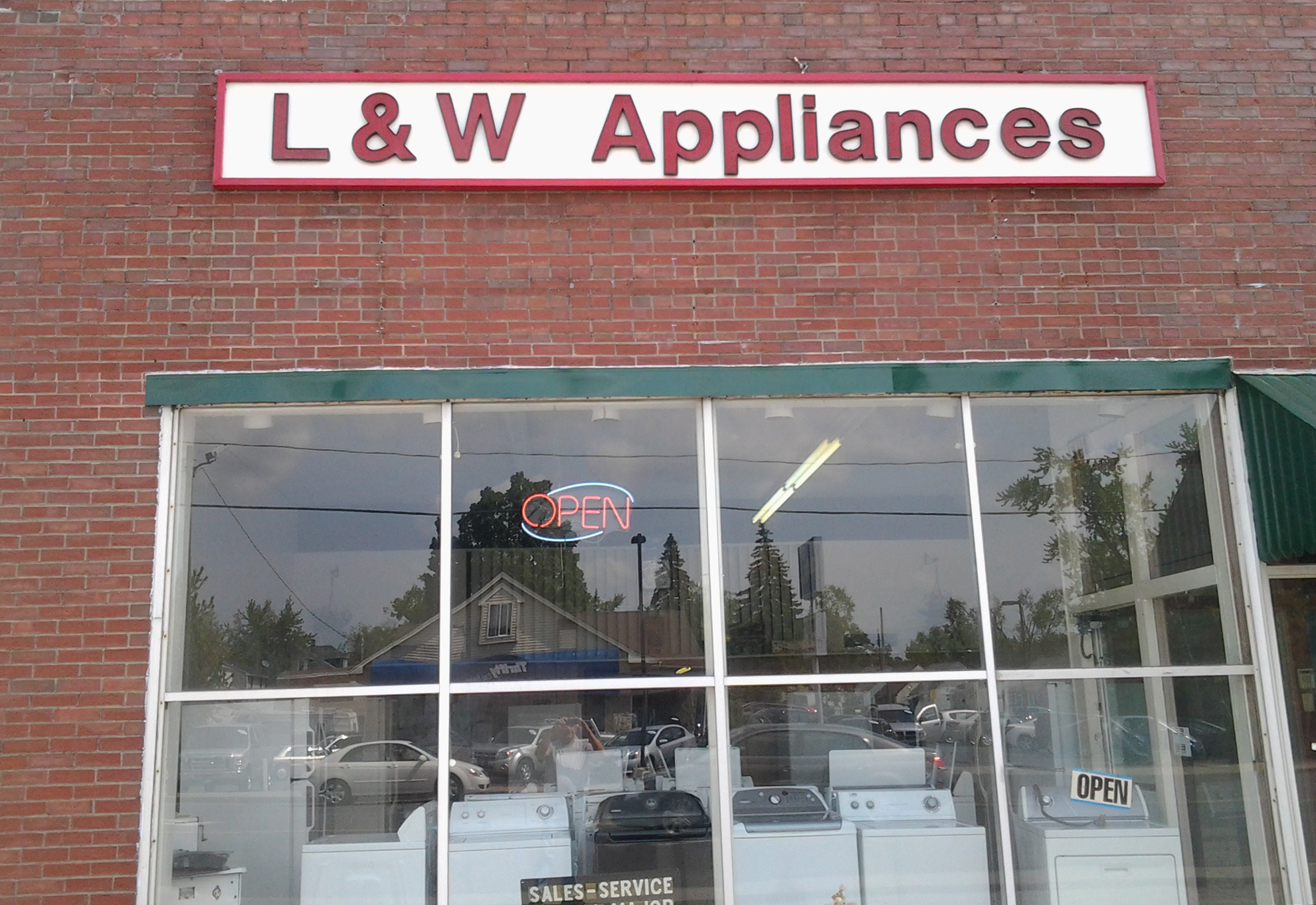 L Amp W Appliance Service Repair And Sales L Amp W Appliance